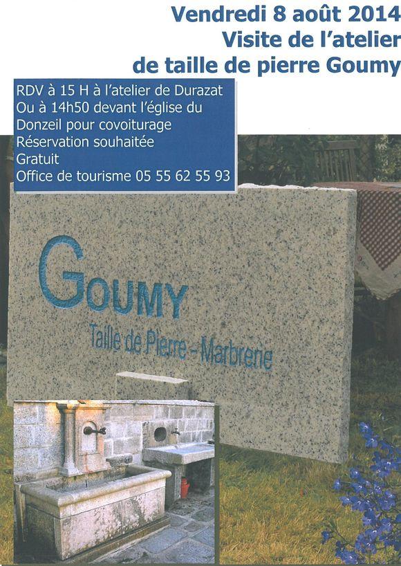 Visite d 39 atelier office de tourisme d 39 ahun creuse thaurion gartempe - Office de tourisme creuse ...
