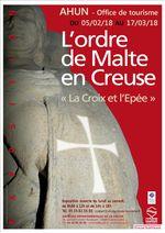 L'Ordre de Malte en Creuse