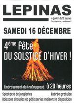 4�me f�te du Solstice d'Hiver