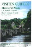 Visite guid�e Moutier d'Ahun